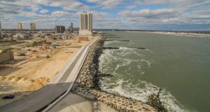 Absecon Inlet in Atlantic City.