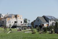 Mullica Hill on Sept. 2, 2021 where a tornado from Hurricane Ida struck the day before.