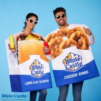 White Castle fans can dress as their favorite food for Halloween, exclusively from Spirit Halloween.